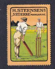 Denmark Poster Stamp  CRICKET SPORT