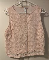 Forever New Pink Vest Small
