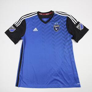 San Jose Earthquakes adidas adizero Practice Jersey - Soccer Men's