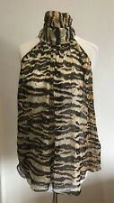 Dolce Gabbana Silk Leopard Print Blouse IT38