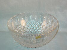 SAMOBOR YUGOSLAVIA HAND CUT 26% LEAD CRYSTAL BOWL WITH LABEL