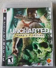 Uncharted: Drake's Fortune (Sony PlayStation 3) *UPC Punched* New and Sealed