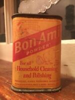 Vintage Bon Ami Cleansing Powder Unopened Tin Vintage Kitchen Domestics