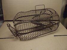 "Antique Mouse Trap Large 15 3/8""  Mouse & Rat Live Cage Trap EARLY1900's"