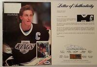 PSA/DNA LOA Wayne Gretzky HOF LOS ANGELES KINGS LA AUTOGRAPHED BECKETT MAGAZINE