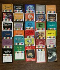 LOT 250 Trivial Pursuit Cards 5 Sets, 25 SETS TO CHOOSE~Popular Triva Questions