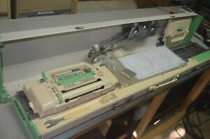 LEMAIR KNITTING MACHINE, KE 2400, JAPAN, UNTESTED, FOR PARTS OR REPAIR