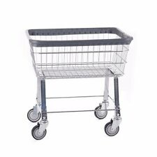 COMMERCIAL WIRE LAUNDRY BASKET CART! NEW!