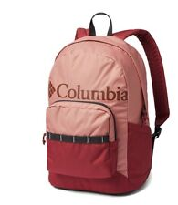 """Columbia 22L Lightweight Everyday Backpack Fits 15"""" Laptop Side Pocket Full Zip"""