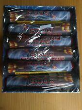Lightning Rod Firework Thunderking Tube Labels salutes
