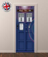 DS5 DOOR FRIDGE CUBOARD SKIN COVER TARDIS DR WHO STICKER WRAP SCENERY VIEW MURAL
