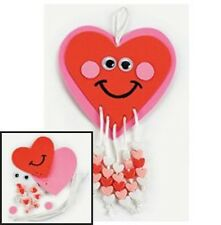 Happy Heart Beaded Valentine Craft Kit 4 Kids ABCraft