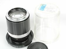 Zeiss contarex sonnar 2,8/135 135mm f/2, 8 135mm 1:2,8 láminas-case with lensnumber