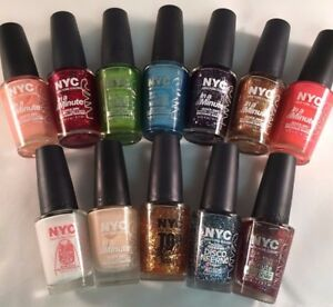 NYC In A Minute Nail Polish (You Choose Color) ~COMBINED SHIPPING~