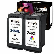 Cartouche d'encre remanufacturée PG 245XL pour imprimante PIXMA iP2820 MG2400