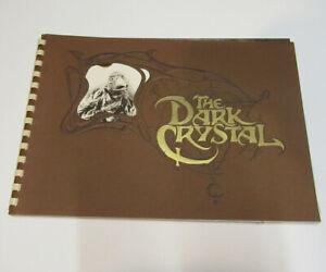 The Dark Crystal Jim Henson movie press book very rare, fantastic condition