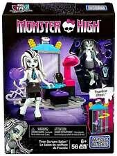 MONSTER HIGH Mega Bloks **FRANKIE STEIN** Teen Scream Salon (56 pcs.) NEW