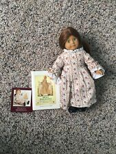 "American Girl FELICITY 6"" mini retired doll and with 3"" Meet Felicity book"