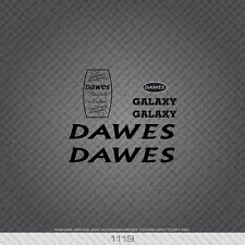 01119 Dawes Galaxy Bicycle Stickers - Decals - Transfers - Black