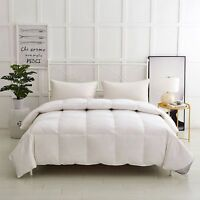 GOOSE FEATHER AND DOWN DUVET/ QUILT '15% DOWN' -
