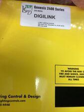 LIGHTING CONTROL & DESIGN GR-2400 GENESIS 2400 SERIES DIGILINK GATEWAY INTERFACE