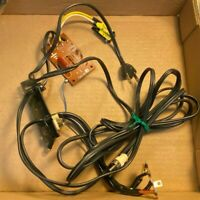 Vintage JVC Set of Cables for JL-A20 Turntable RCA & AC Power Great Shape
