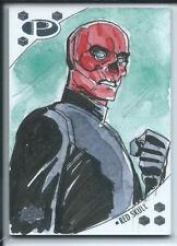 Upper Deck 2017 Marvel Premier Sketch - Red Skull by Nicole Virella