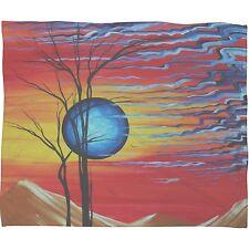 Deny Designs Madart 'Desert Dreams' Fleece Throw Blanket - 80 x 60