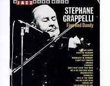 CD STEPHANE GRAPPELLI fine and dandy A JAZZ HOUR WITH ex