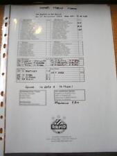 27/11/2004 Teamsheet: SK Rapid v SK Sturm  (Notes On Front). No obvious faults,