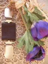 Gypsy Cuir Vêtements Clip ~ Manteau/Pull ~ Brown Pearl ~ 70 couleur + Mariée magnolia ~ BN
