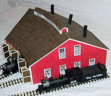 PACIFIC COAST 3 STALL ROUNDHOUSE O On3 On30 Railroad Unptd Structure Kit DF203