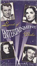 legends of entertainment video vhs new clark gable cary grant elizabeth taylor