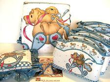 Daisy Kingdom Rock Along Bear Nursery Bedding Set Three Pieces New Vintage