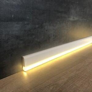 """LED Sockelleiste  """"Ormea"""" 12 x 42 mm weiß foliert für indirekte Beleuchtung"""