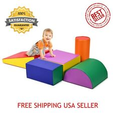 Climb Crawl Play Set Kids Toddlers Preschooler Gymnastics Shape Foam Toy Mat