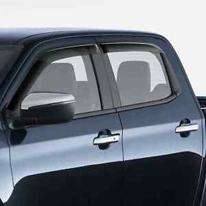 New Genuine Mazda BT-50 Slimline Weathershields Set Dual Cab 2020 ZW TF-11ACSLWD
