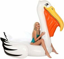 Pelican Inflatable Raft Swimming Pool Water Tube Float Big Party Island Lake New