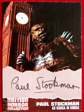 BRITISH HORROR COLLECTION - PAUL STOCKMAN - as KONGA (with Big Ben) Autograph