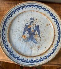 Grande Piatto Antico da parata  Ceramica Italia Centrale sec XVII/XVIII