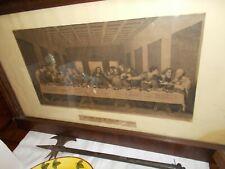 Stampa antica dell'ultima cena ,condizioni perfette dim.110 x 65
