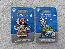 D23 Expo 2019 Disney Pin Dapper Days Fab 5 Train, Mickey Minnie Wheeling LE 1500