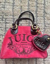 Juici Couture Velour Bag Pink