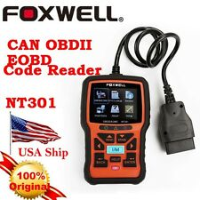 From USA Foxwell NT301 Engine Diagnostic Scan & Reset Code Reader Tool CAN OBD2