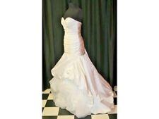 Alfred Angelo 212 Tiana's Disney Fairy Tale Bridal Wedding Dress White Size 10