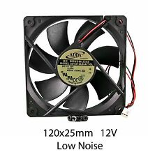 120mm 25mm New Case Fan 12V 71CFM PC CPU Cooling Computer Ball Brg 2Wire 377*