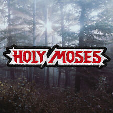 Holy Moses | Embroidered Patch | Germany | German Thrash Metal Band