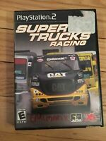SUPER TRUCKS RACING - PS2 - WITH MANUAL - FREE S/H - (SS)