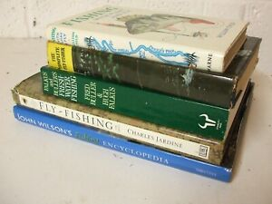 Vintage Fishing book Collection