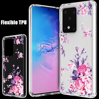 For Samsung Galaxy S20 Ultra Plus 5G Case Clear Shockproof Hybrid TPU Slim Cover